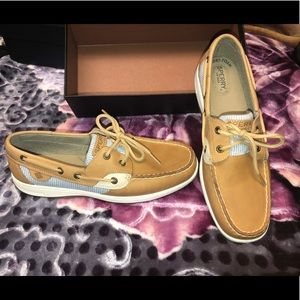Sperry's Songfish Boat Shoes size 10NWOT